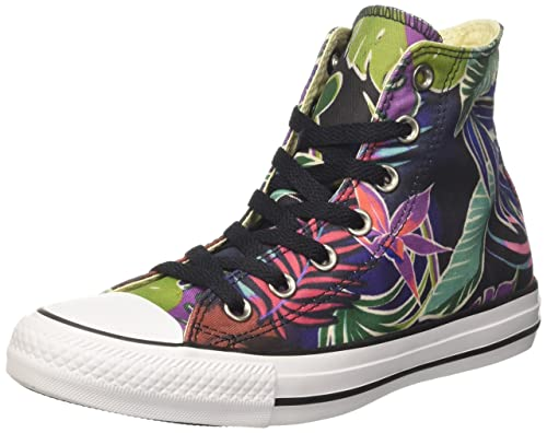 196981adb3c6 Converse Mens Chuck Taylor All Stars Tropical Print Hi Top Canvas Trainers   Amazon.ca  Shoes   Handbags