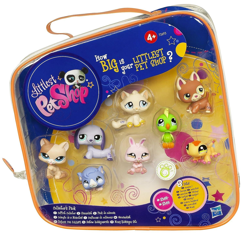 Hasbro Littlest Pet Shop Pochette De 8 Figurines Collector Exclusif
