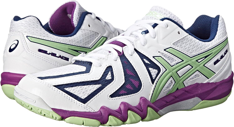 limpiar Shuraba mostrador  Amazon.com | ASICS Women's Gel Blade 5 Indoor Court Shoe | Shoes
