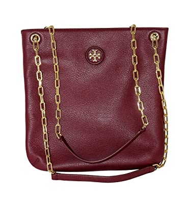 3dcf925aedfc Tory Burch Women s Whipstitch Logo Swingpack Hobo Shoulder Bag 40913