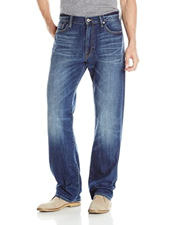 Lucky Brand Men's 181 Relaxed Straight Jean In Lakewood at Amazon Men's  Clothing store: