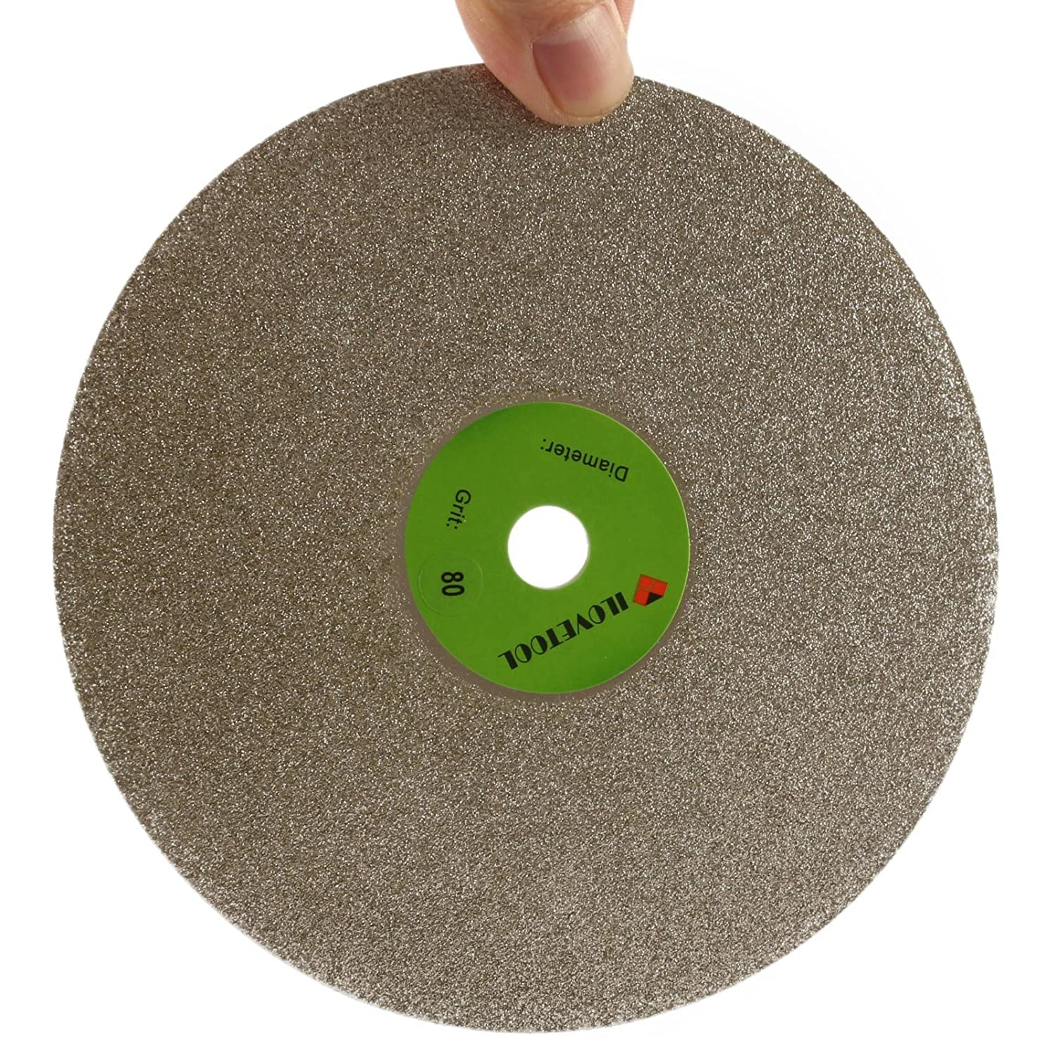 JOINER 8 inch Grinding Disc 240 Grit No Hole Diamond Wheel Lapidary Stone Tools