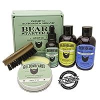 Kit cuidado barba - Aceites Cuidado de Barba Kit - 100% Productos Orgánicos Y realizados