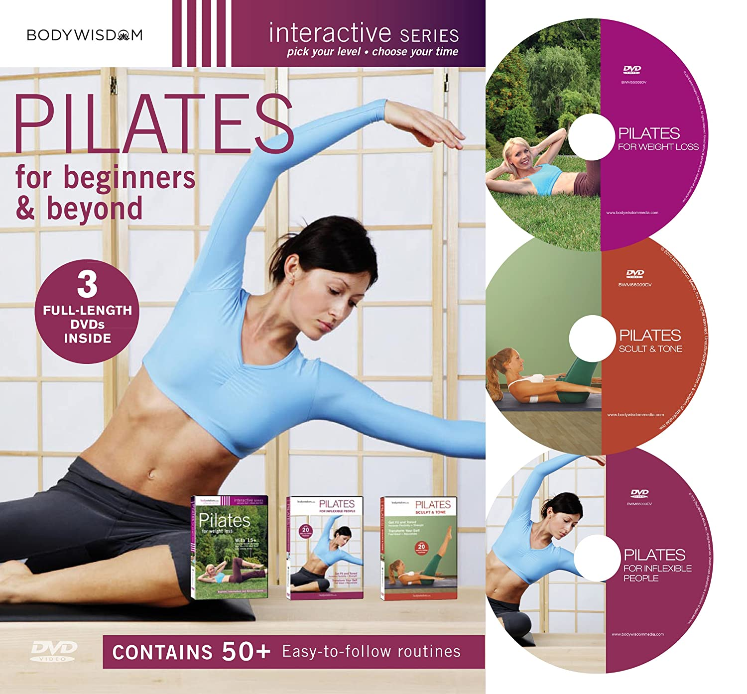 inflexible people. amazon.com: pilates for beginners \u0026 beyond boxed set (pilates inflexible people / complete weight loss sculpt and tone): s