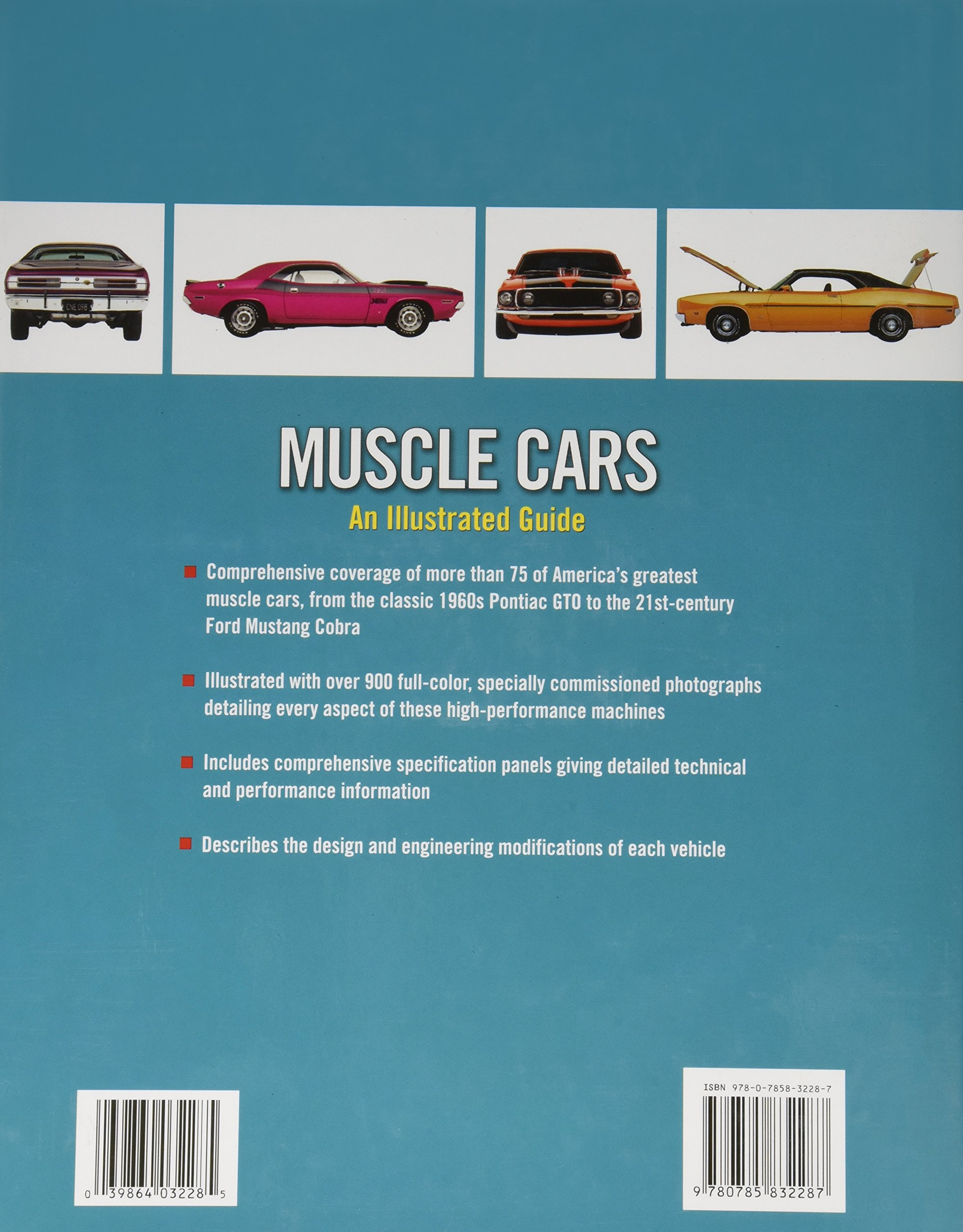 Muscle Cars An Illustrated Guide Craig Cheetham - Famous movie cars beautifully illustrated
