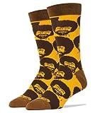 Amazon Price History for:Oooh Yeah Men's Luxury Combed Cotton Crew Socks Bob Ross …