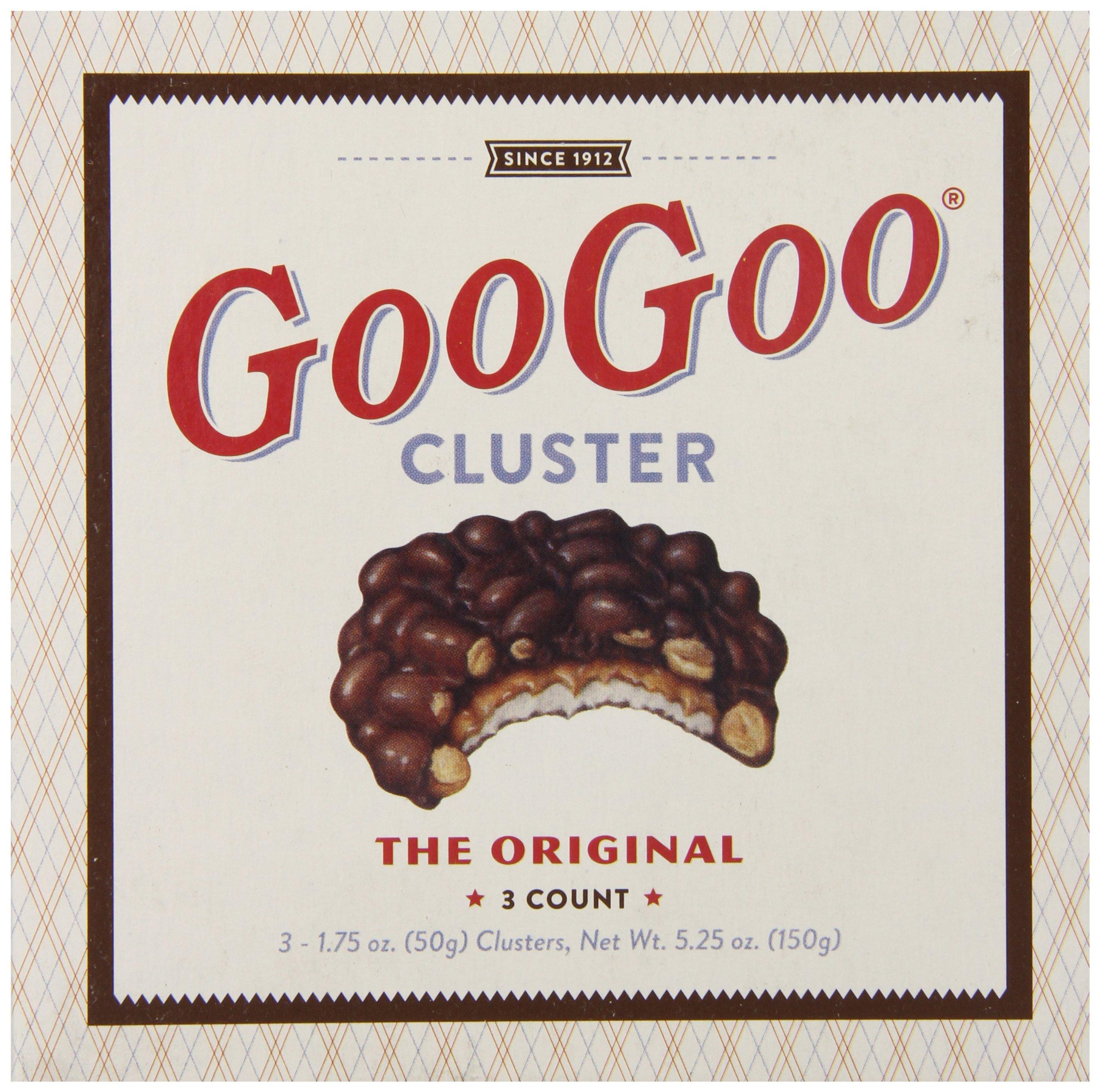Goo Goo Cluster Original Chocolate Carton, 5.25 Ounce by Goo Goo Cluster