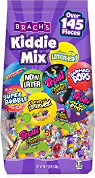 145-Piece Brach's Kiddie Mix, 48 Ounce Assorted Candy Bag