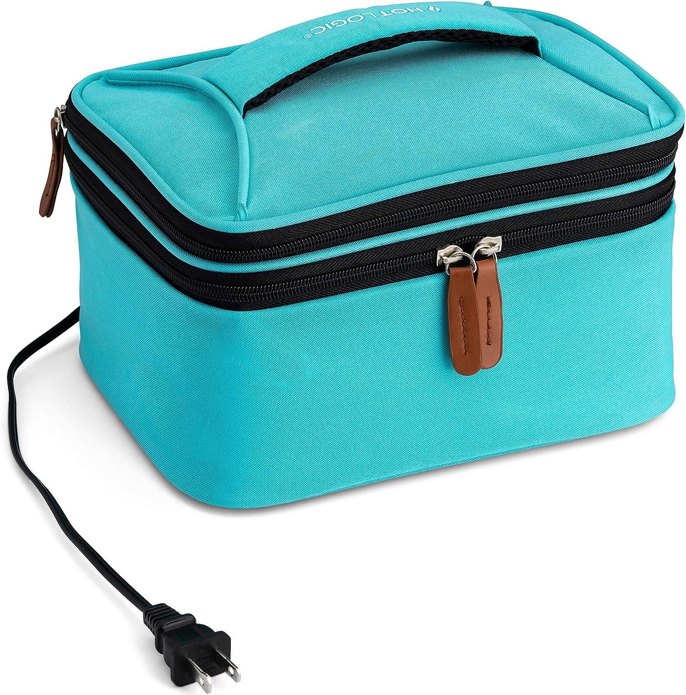 HotLogic 16801169-TL Food Warming Tote Lunch Bag Plus 120V, Teal