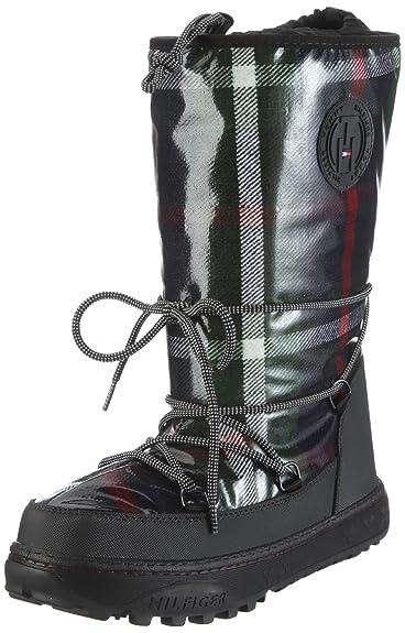 50fcabbf3 Tommy Hilfiger Womens WEBBER 1 B Boots Green Grün GREEN NAVY Size ...