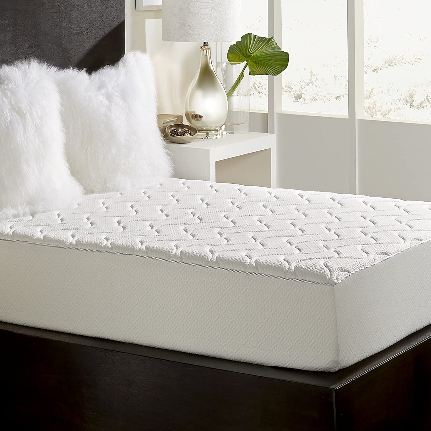 Rio Home Fashions 10-Inch Top Quilted Memory Foam Mattress King Reviews