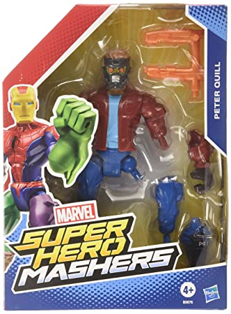 Marvel Hero Mashers Star Lord Peter Quill Toy Figure