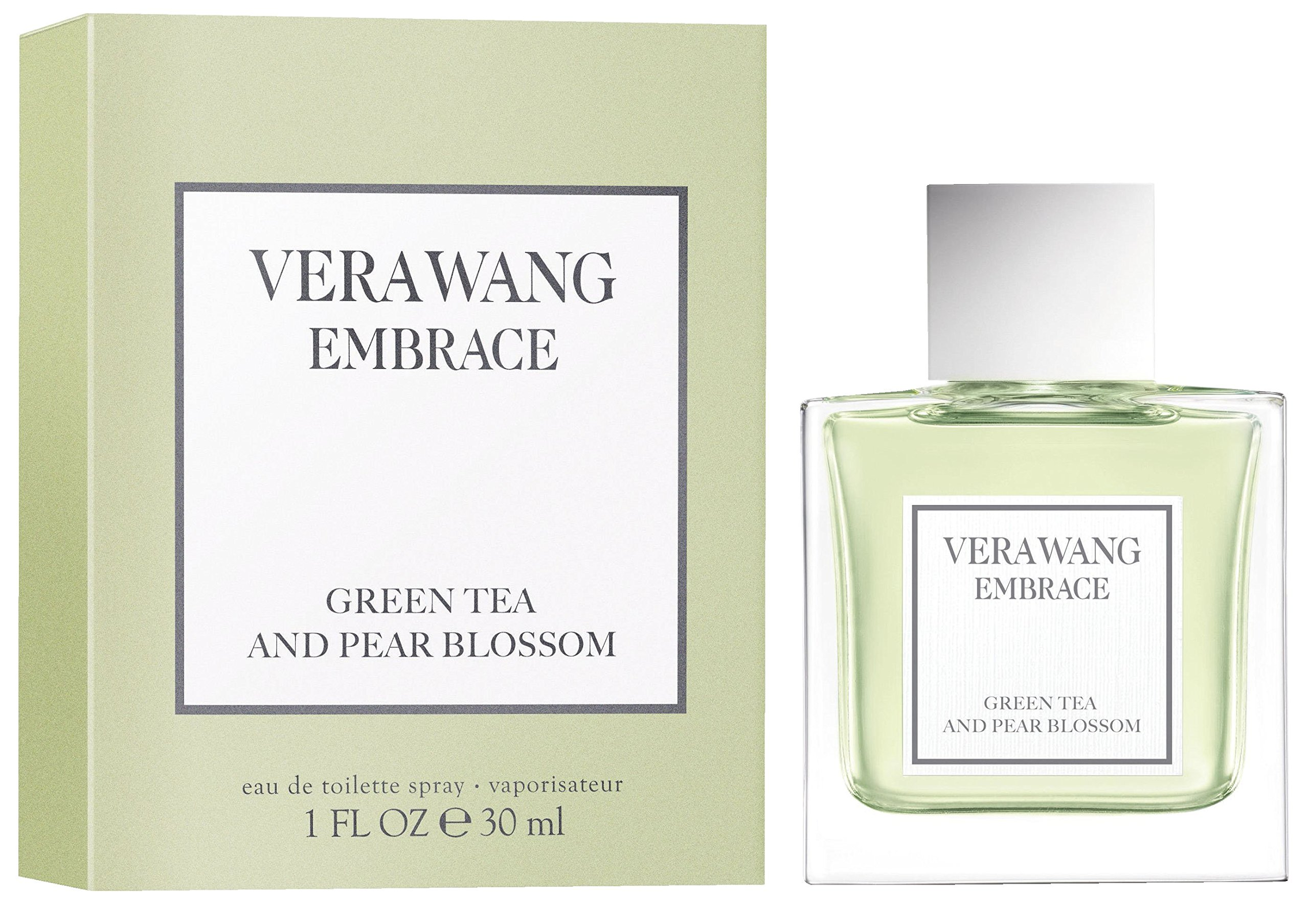 Vera Wang Embrace Eau de Toilette, Green Tea & Pear Blossom, 1 Fluid Ounce