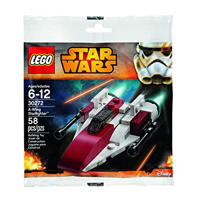 LEGO Star Wars A-Wing Starfighter Polybag (30272): Toys & Games
