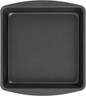 """product image for G & S Metal Products Company ProBake Teflon Xtra Nonstick Square Cake Baking Pan, 9"""", Gray"""