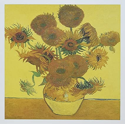 Amazon Vase With Fifteen Sunflowers By Vincent Van Gogh