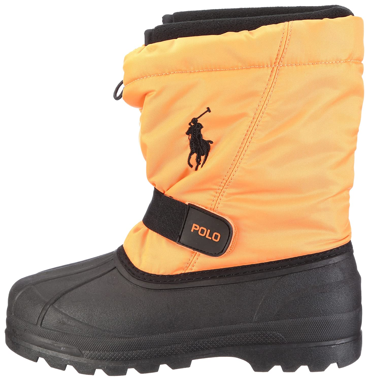Boys Snow Boots 95286-PS Neon Orange 11 M US Polo Ralph Lauren Whistler PS