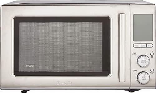 Breville BMO850BSS1BUC1 the Smooth Wave countertop microwave oven