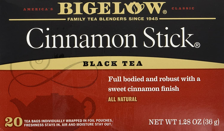 Bigelow Tea Cinnamon Stick, 20 Bags (Pack of 3)