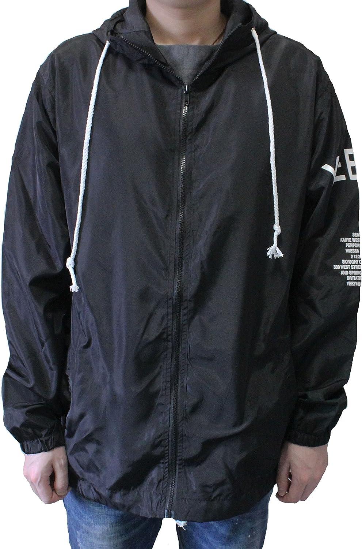 Men Lightweight Windbreaker Jacket West