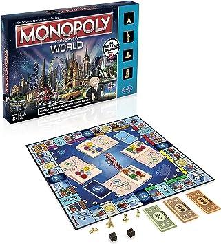 Hasbro Gaming - Monopoly, edición Mundial (versión en alemán): Amazon.es: Juguetes y juegos