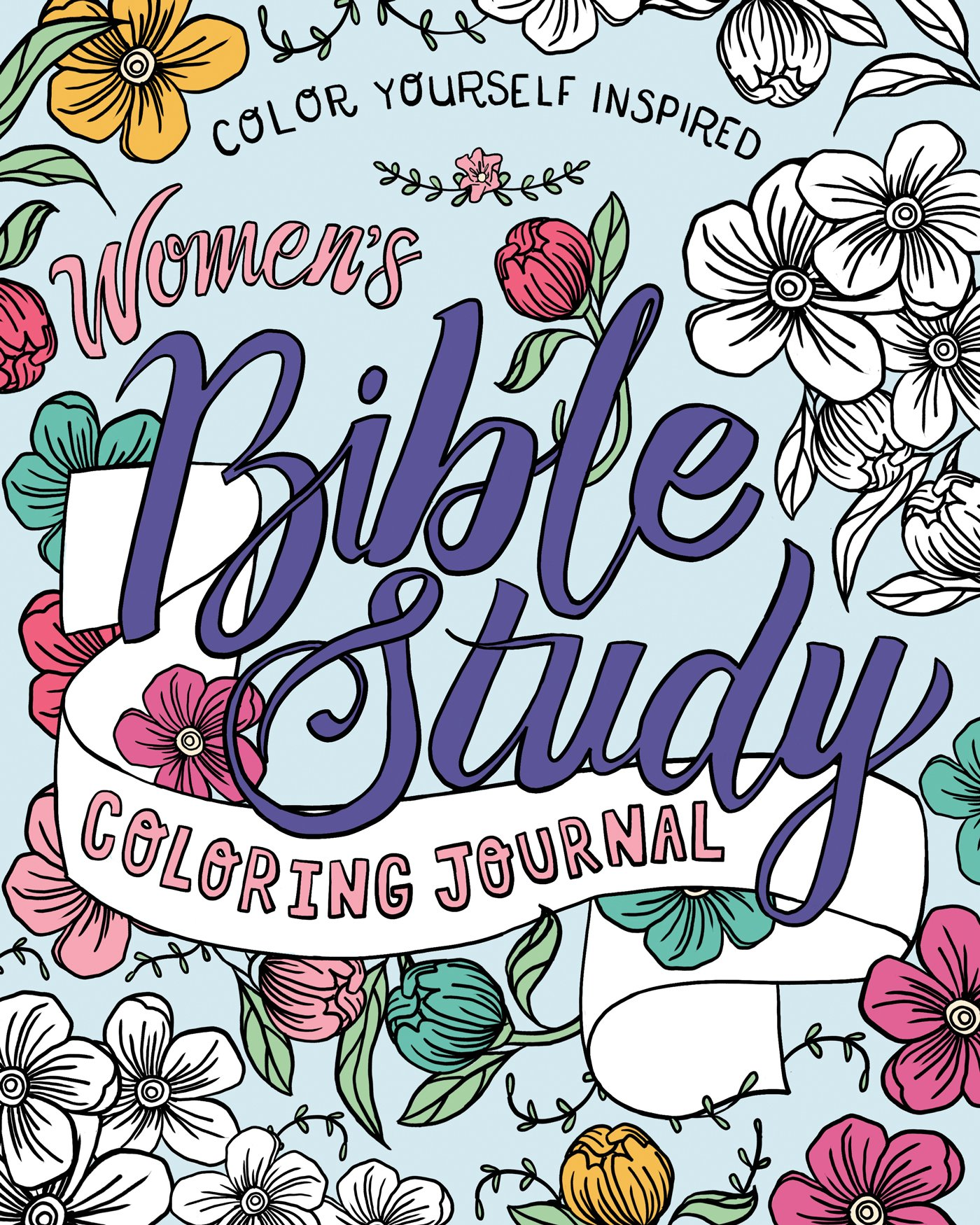 Amazon.com: Women\'s Bible Study Coloring Journal (Color Yourself ...
