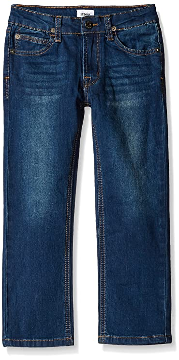 Hudson Jeans Boys' Big Parker Straight Knit Denim