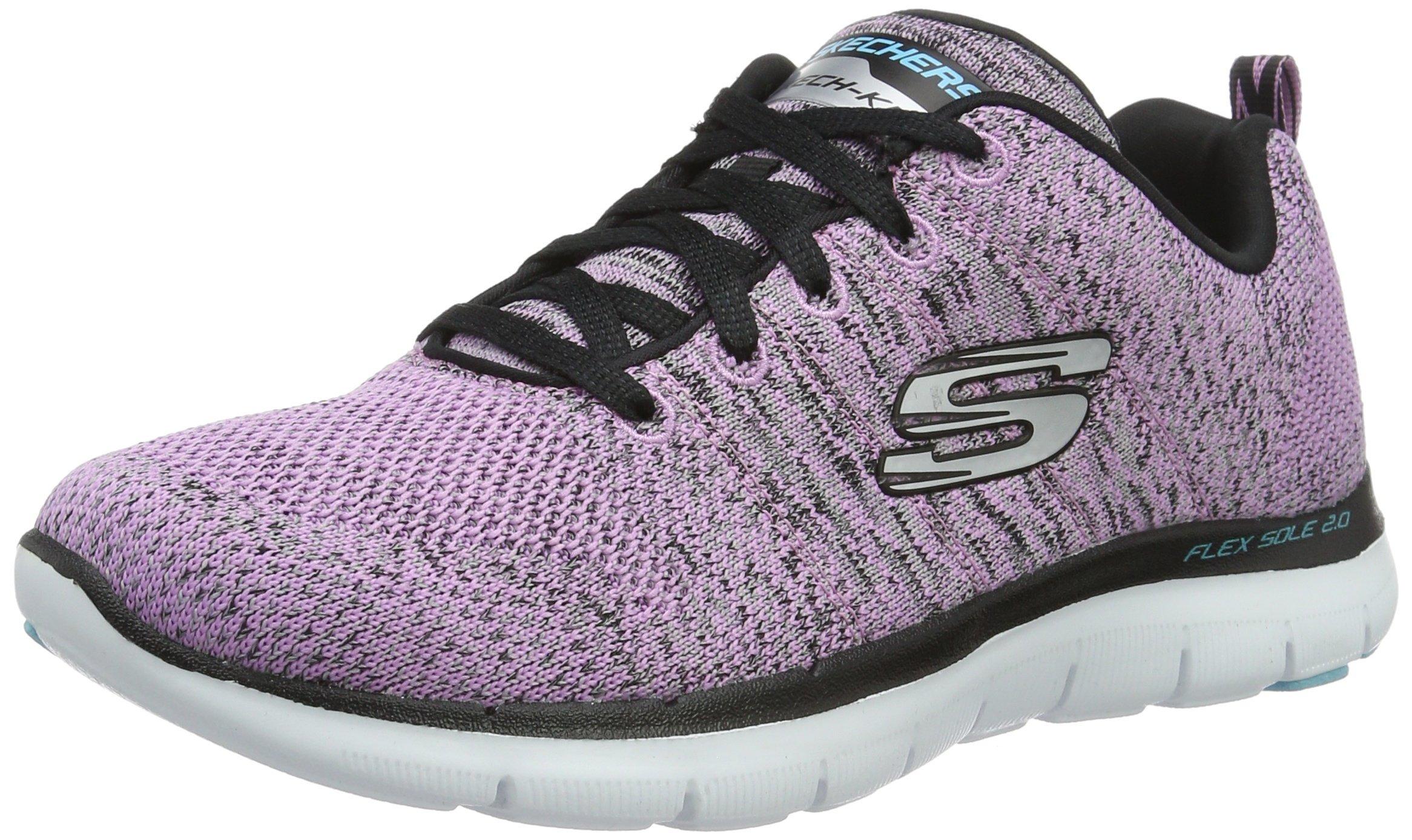 Skechers Flex Appeal 2.0 High Energy Womens Sneakers Lavender 6