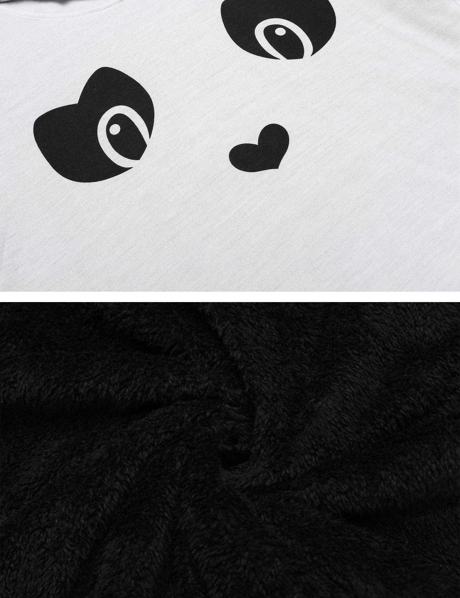 Zeagoo Women's Loose Fit Pullover Hoodie Sweatshirt with Kangaroo Pocket,White,M by Zeagoo (Image #7)