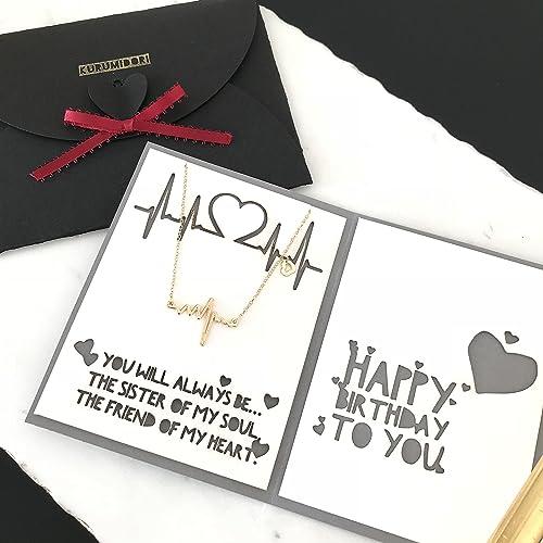 Amazon Kurumidori Personalized Birthday Card With 14k Ecg