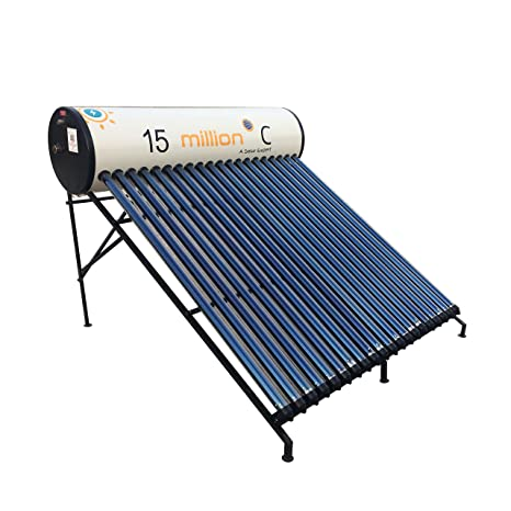 15 million Deg C 100 LPD Glasslined Solar Water Heater - VERTINA