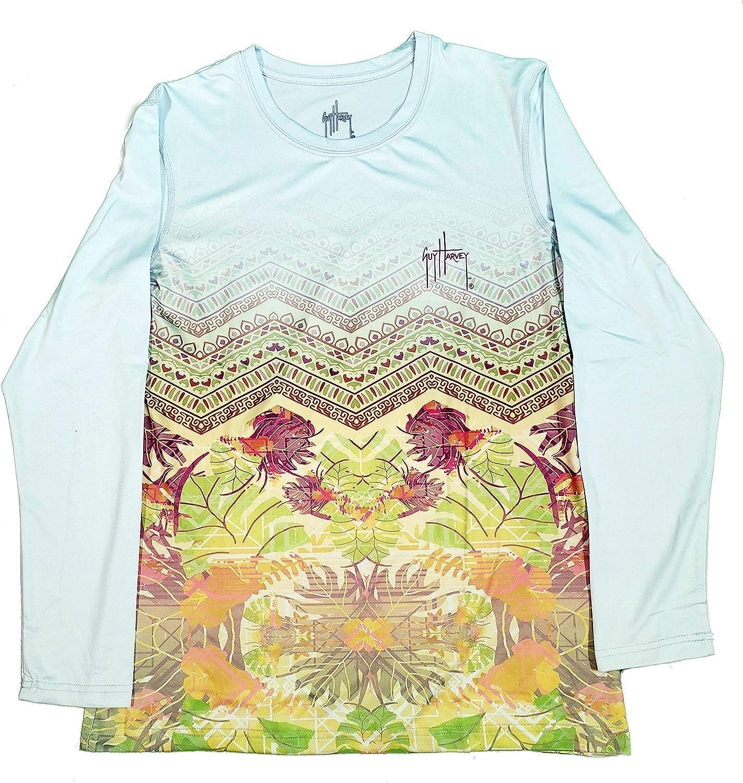 Guy Harvey Womens Long Sleeve Performance Shirt Assorted Styles