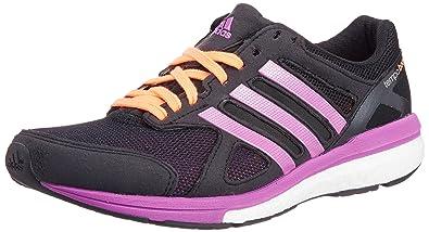 competitive price 97eba ee6b0 adidas Adizero Tempo 7 Womens Running Shoes - 7 - Black