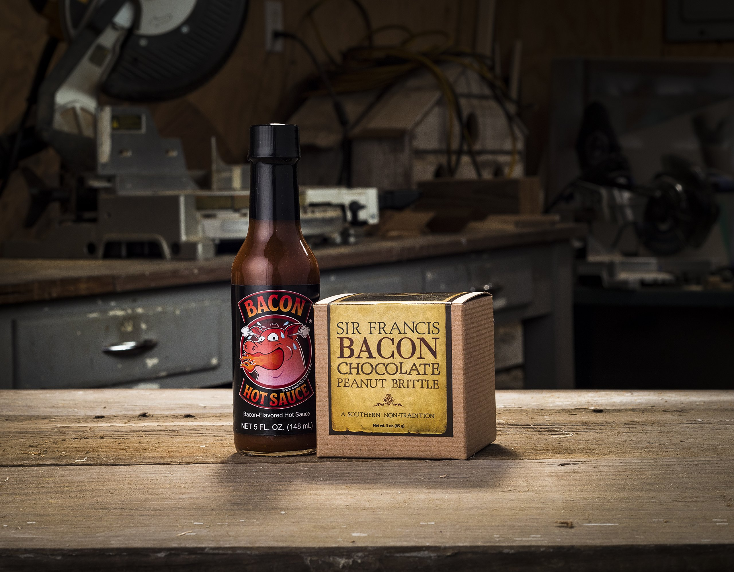 Bacon Gift Pack (Bacon Lover Sampler Set) - Bacon Six Ways - Gourmet Food Gift - Great Gift For Men - Comes in a Wooden Gift Crate by Broquet (Image #4)