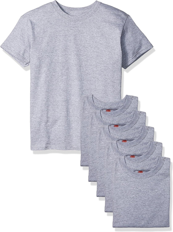 Hanes Boys ComfortSoft T-Shirt Pack of 6