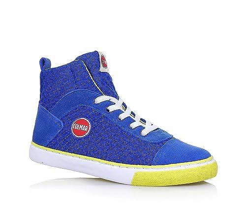 COLMAR - Sneaker stringata blu 591e220e7bc
