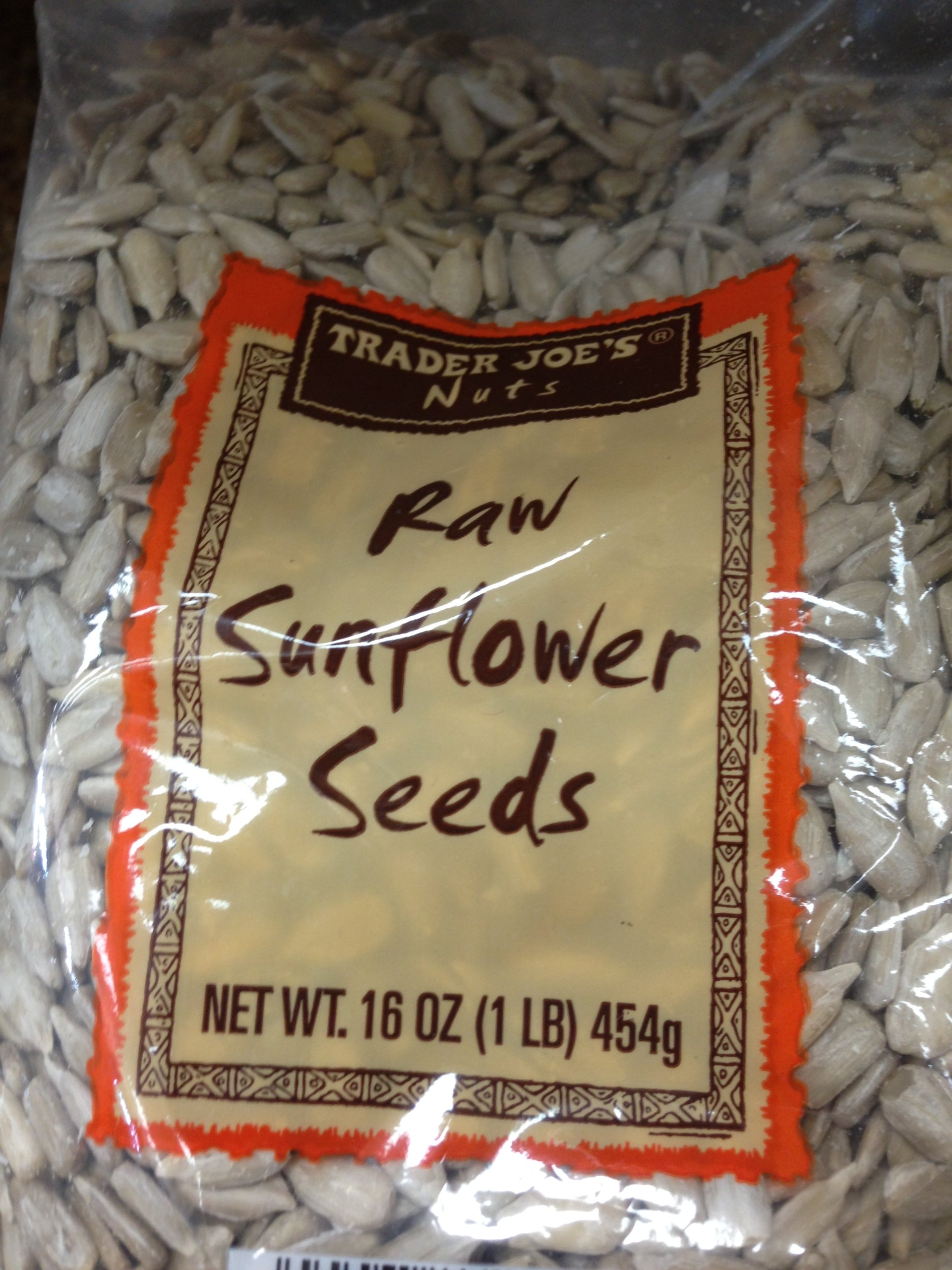 Trader Joes Raw Sunflower Seeds (Pack of 2) by Trader Joe's
