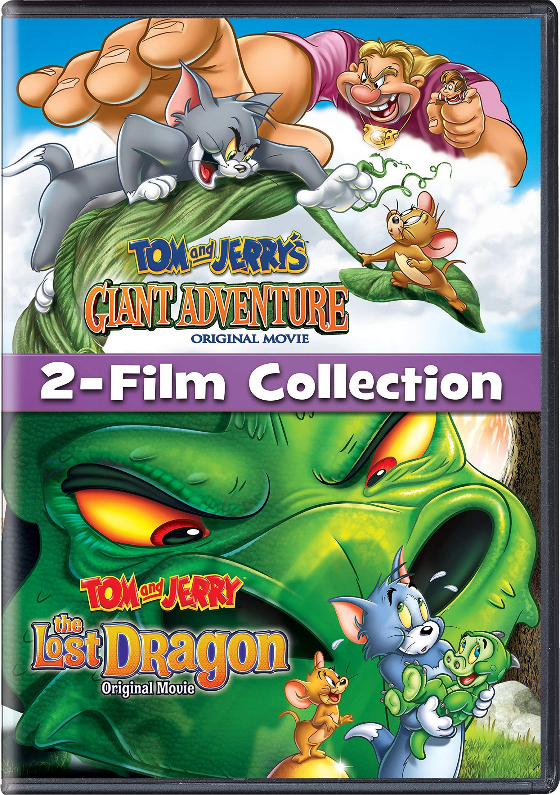 DVD : Tom And Jerry Lost Dragon/ Giant Adventure (Eco Amaray Case)