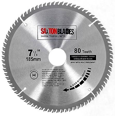 Tct18580t saxton tct circular wood saw blade 185mm x 30mm x bore x tct18580t saxton tct circular wood saw blade 185mm x 30mm x bore x 80t for bosch greentooth Images