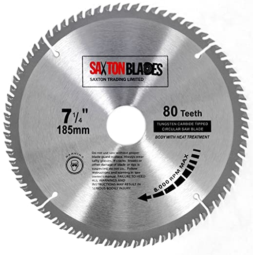 Tct18580t saxton tct circular wood saw blade 185mm x 30mm x bore x tct18580t saxton tct circular wood saw blade 185mm x 30mm x bore x 80t for bosch greentooth Image collections