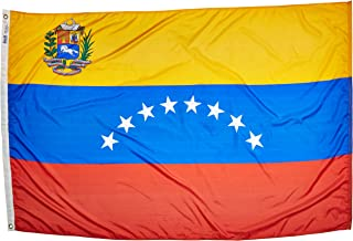 product image for Annin Flagmakers Model 199280 Venezuela Flag Nylon SolarGuard NYL-Glo, 4x6 ft, 100% Made in USA to Official United Nations Design Specifications