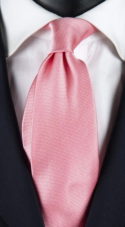 Corbata rosa con micro fantasía tono sobre tono exclusivo ...