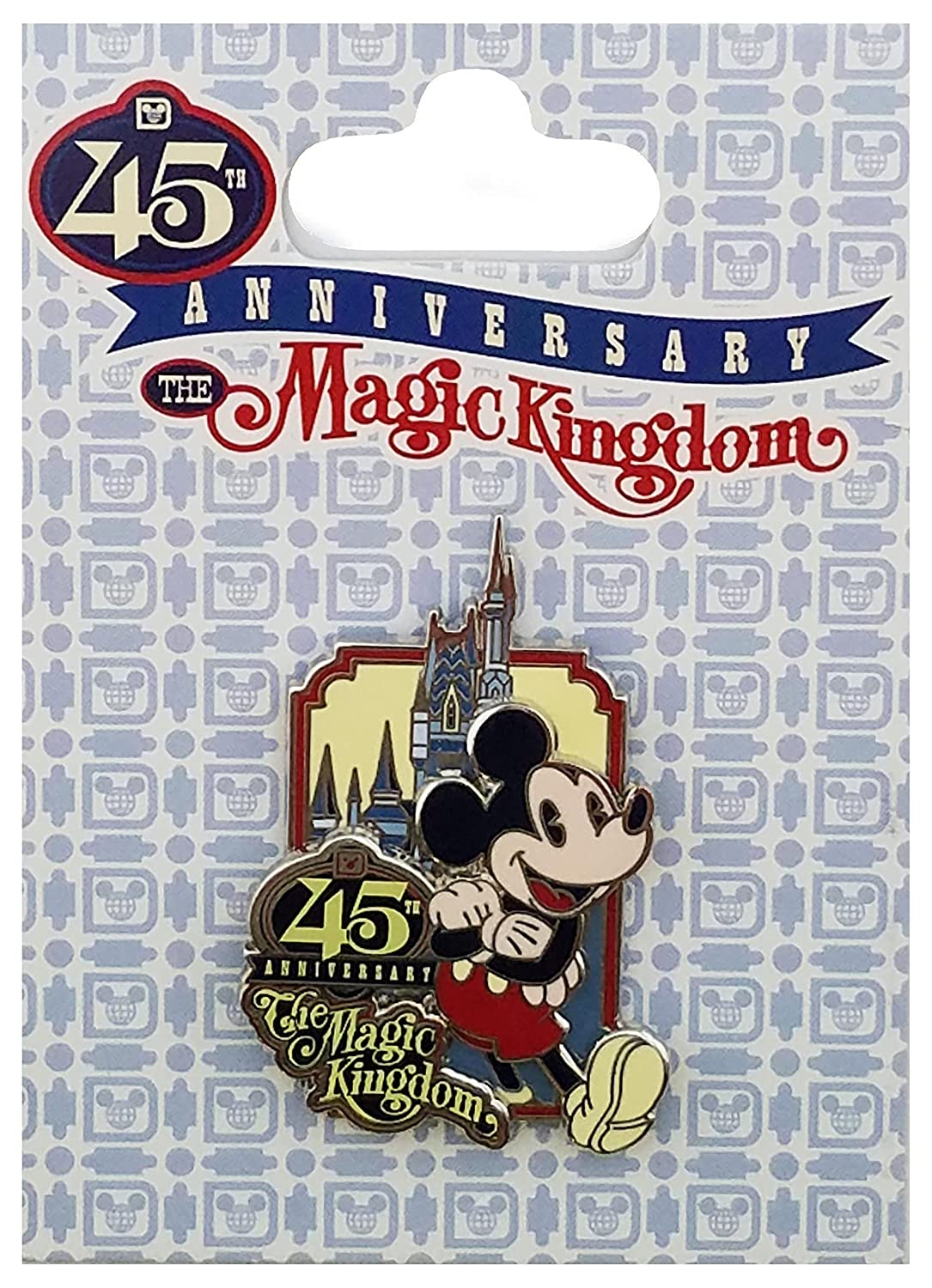 Disney Pin - WDW – 45th Anniversary - The Magic Kingdom - Logo