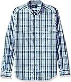 Nautica Mens Long Sleeve Plaid Linen Button Down Shirt Long Sleeve Button Down Shirt