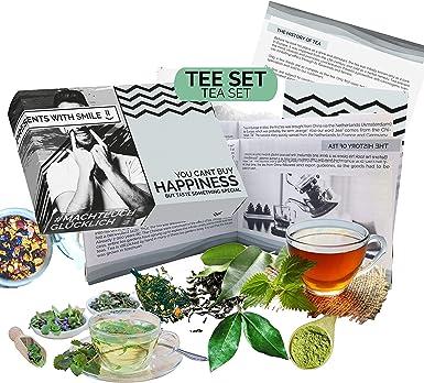 Juego de degustación de té l tés diferentes del mundo l caja de regalo especial |