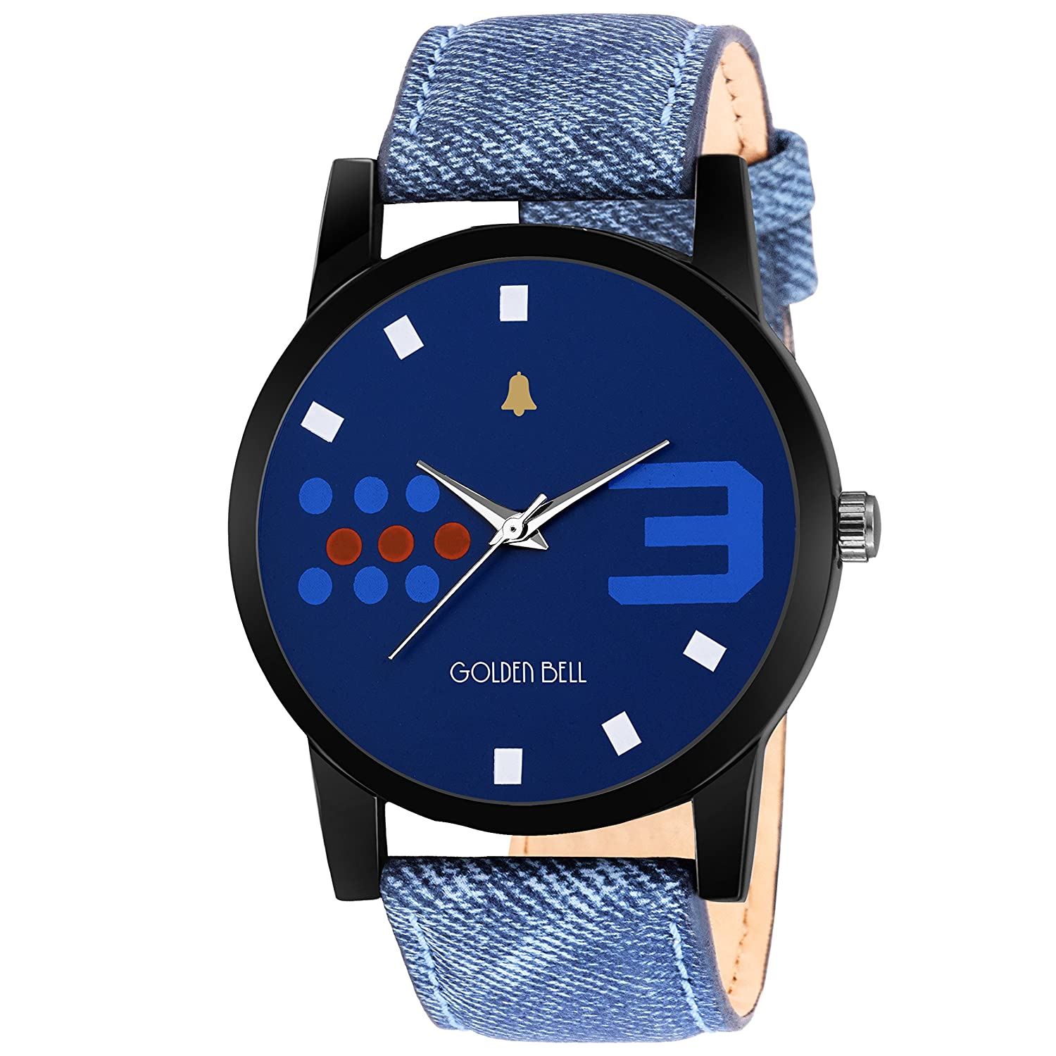 New Style Analog tic Blue Dial Men's Watch