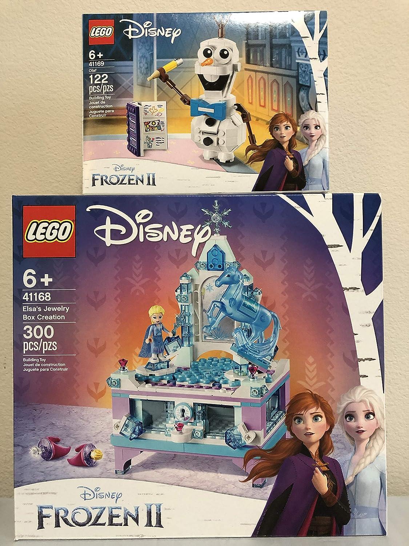LEGO Disney Frozen II Elsa's Jewelry Box Creation Bundled Disney Frozen II Olaf