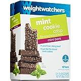 Weight Watchers Mini Bars, Mint Cookie Crisp, 12 bars per box