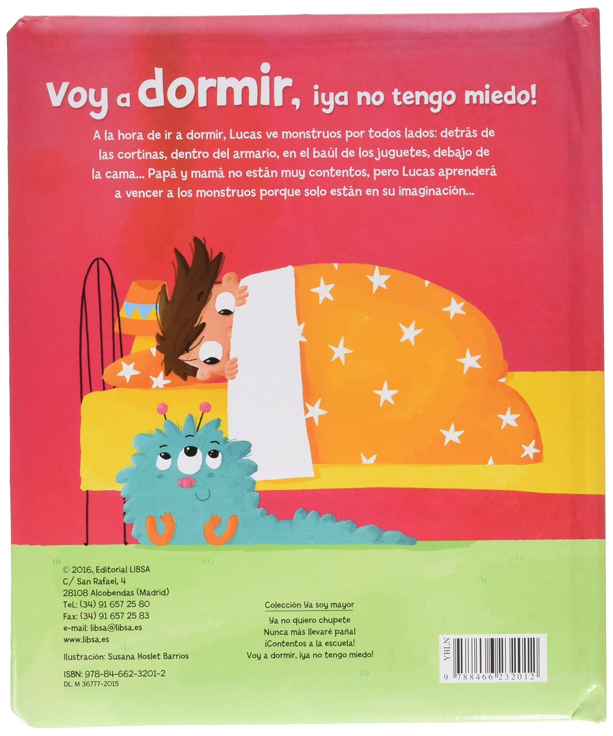 VOY A DORMIR YO NO TENGO MIEDO: Equipo Editorial: 9788466232012 ...