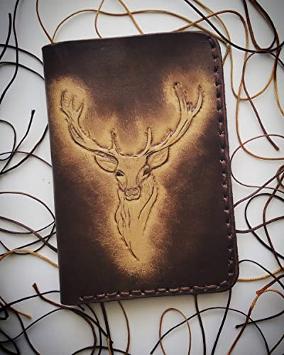 Amazon.com  Wallet, whild aminal serial. crafted on vegital leather ... 5ab336ee5e